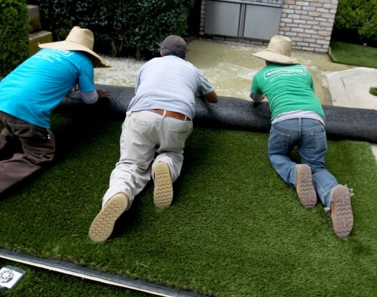 Synthetic Grass-Integrity Safety Surfacing Pros of America